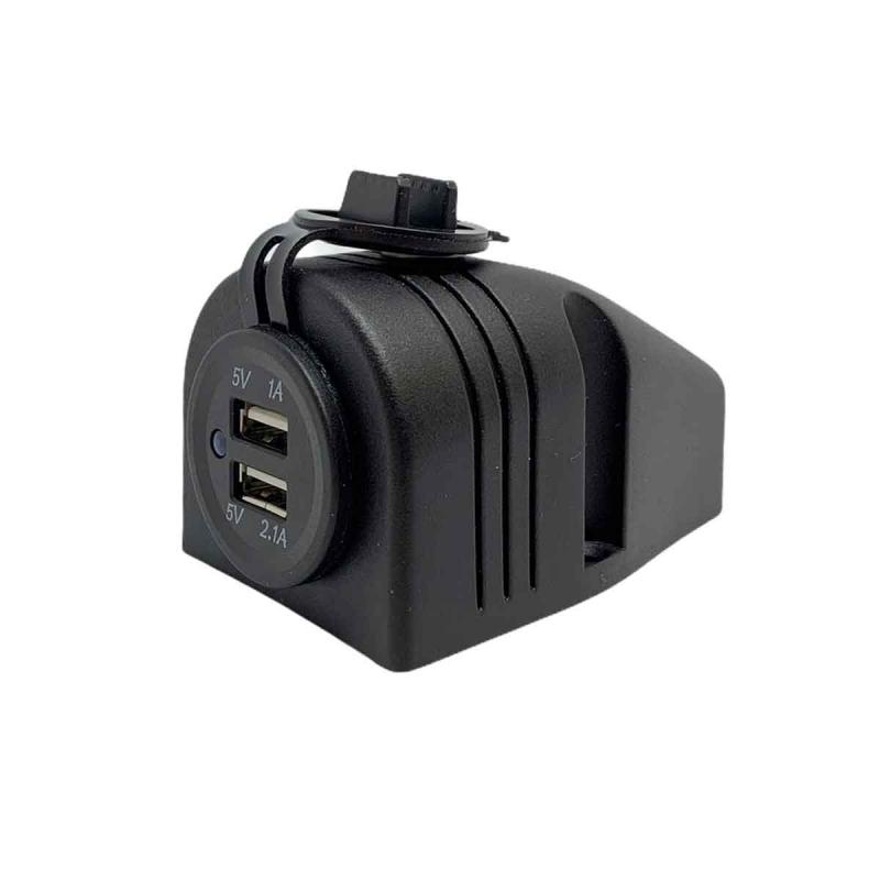 3.1 Amp 12 Volt Power Socket | Dual Port USB Power Outlet ...