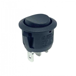 Round Rocker Switch Momentary On Off On