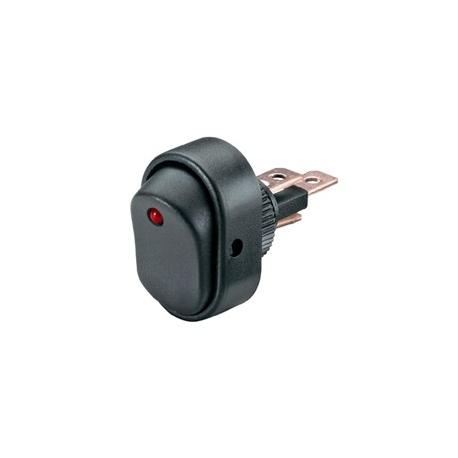 red 12v automotive rocker switch