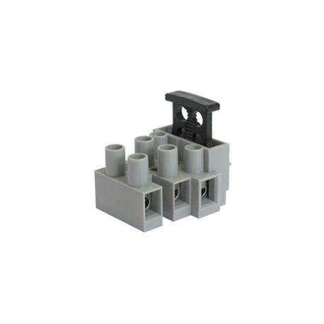 Fused Terminal Block - 3 Way