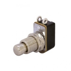 Foot Switch Push To Make Non Latching SPST Heavy Duty For Guitar Effects