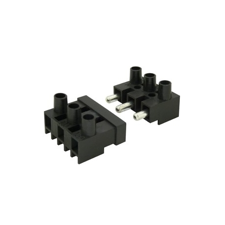 3 Way Plug and Socket Terminal Block