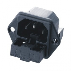 Fused IEC Socket C14 Inlet
