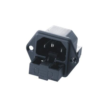 Fused IEC Socket C14 Inlet