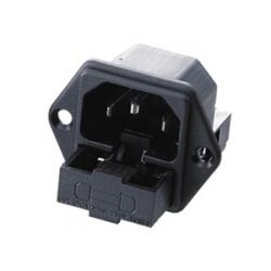 Fused (x2) Socket C14 Inlet