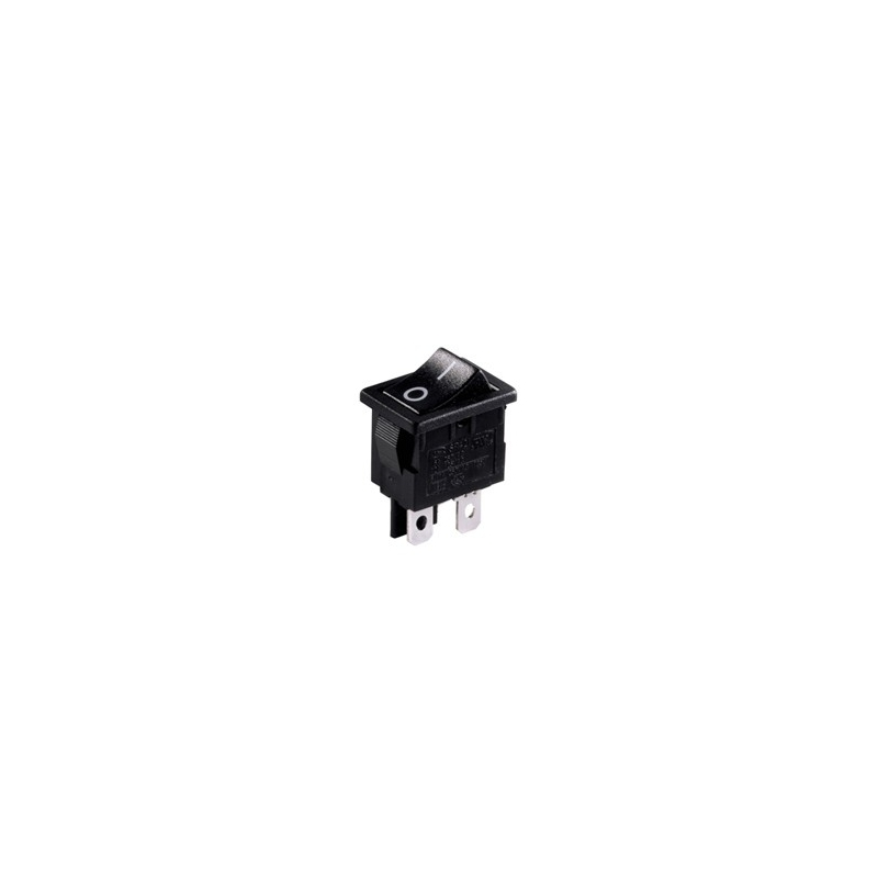 On Off Miniature Rocker Switch With Print