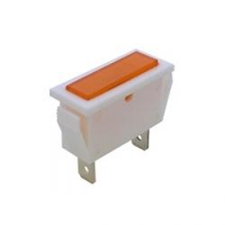 Amber Rectangular Indicator Light 240V
