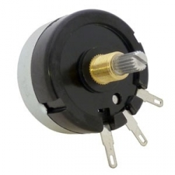 Wire Wound Rotary Potentiometer - 15 Watt 100 Ohm