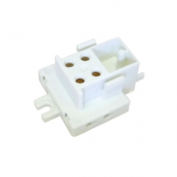 2D Lamp Holder Socket 4 Pin, 36W, Screw Mount