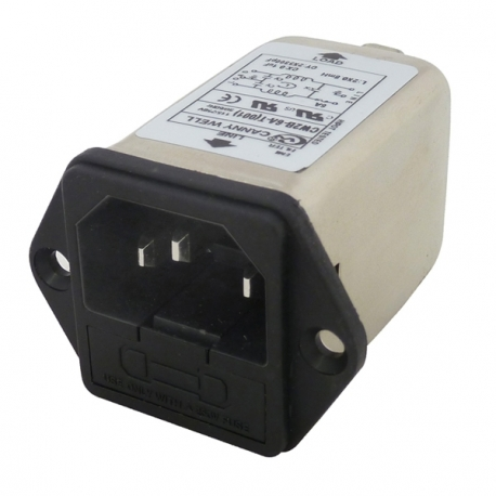 EMI Fused Inlet Filter - 3A