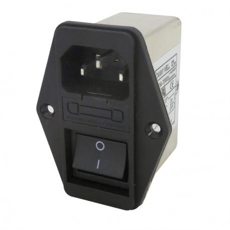 EMI Filter & Fuse / Switch - 10A