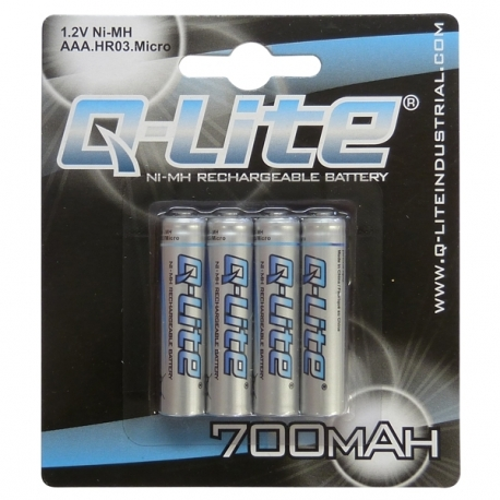 AAA Ni-MH Rechargeable Battery 4 Pack 700mAh