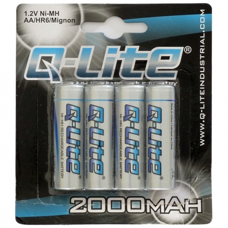 AA Ni-MH Rechargeable Battery 4 Pack 2000mAh