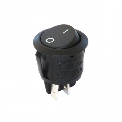 Round Rocker Switch Double Pole